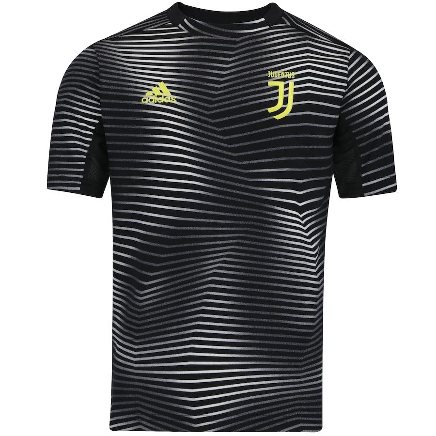 Camisa Pré-Jogo Juventus I 19 20 adidas - Infantil d26fc0380dfaa