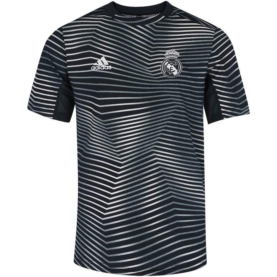 059b8a50d5c26 Camisa Pré-Jogo Real Madrid I 19 20 adidas - Infantil