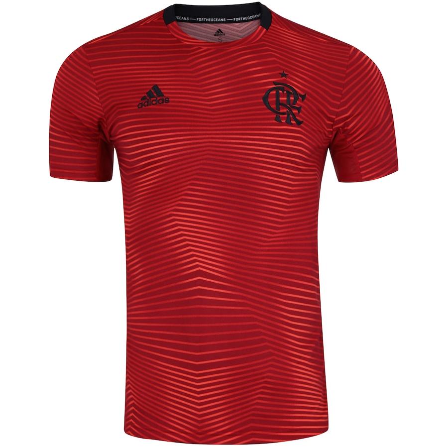 49959d2ebd1 Camisa Pré-Jogo do Flamengo 2019 adidas - Masculina