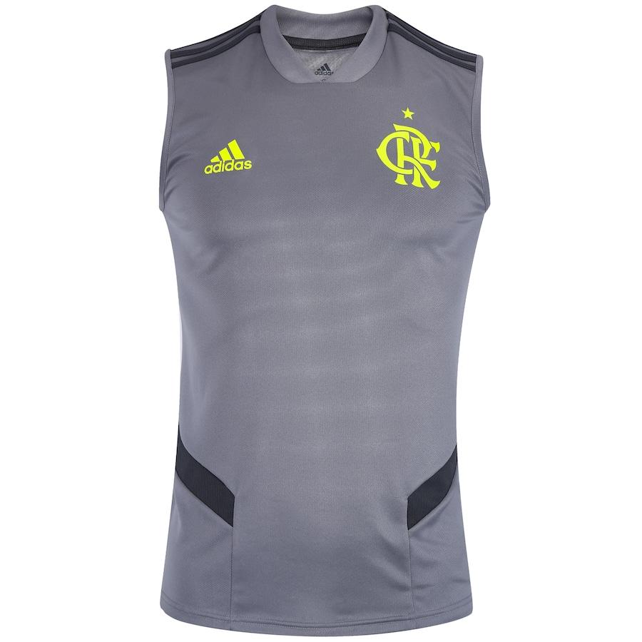 Camiseta Regata de Treino do Flamengo 2019 adidas - Masculina a790ecd11bda5