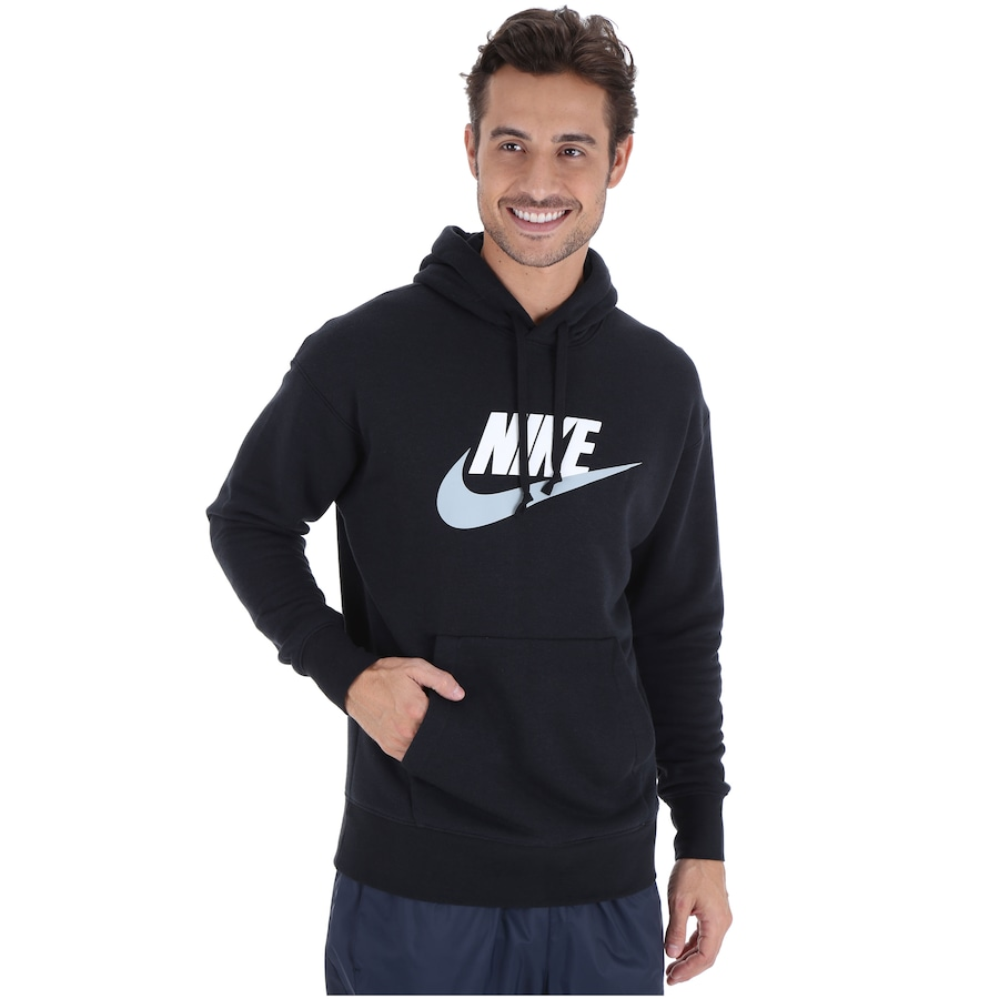 52ec28e0063 Blusão de Moletom com Capuz Nike Heritage Hoodie PO HBR - Masculino