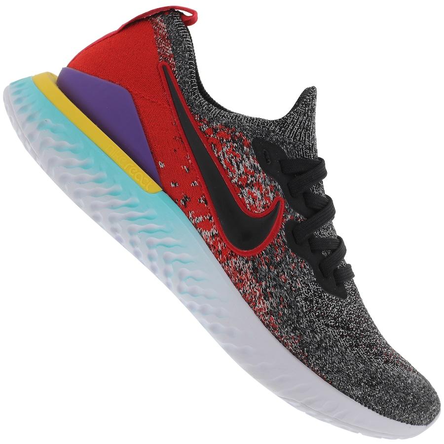 143ebdc4 Tênis Nike Epic React Flyknit 2 - Masculino