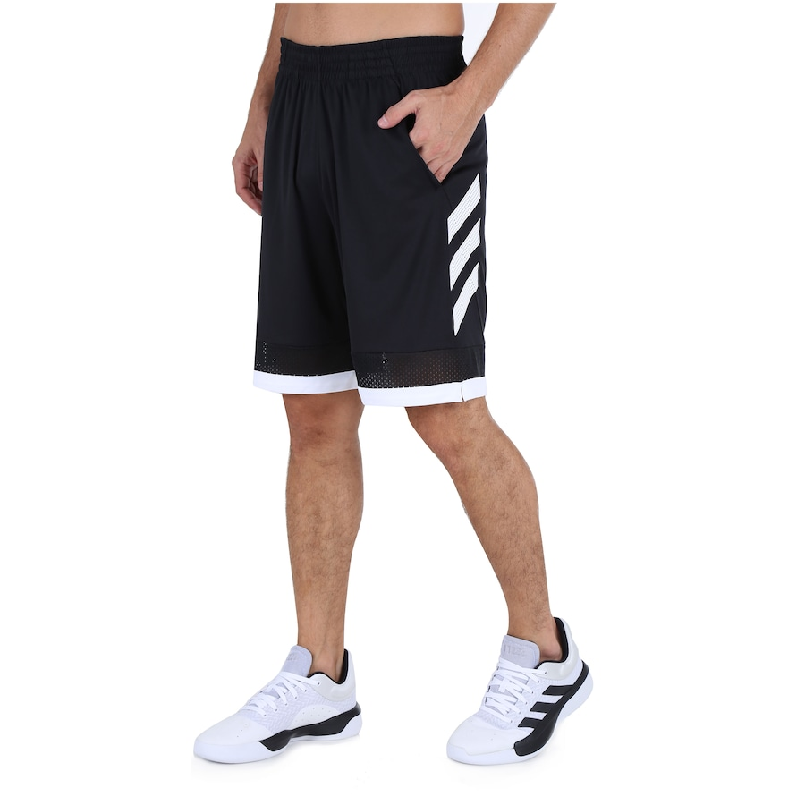 Bermuda Adidas Pro Bounce Masculina Preto