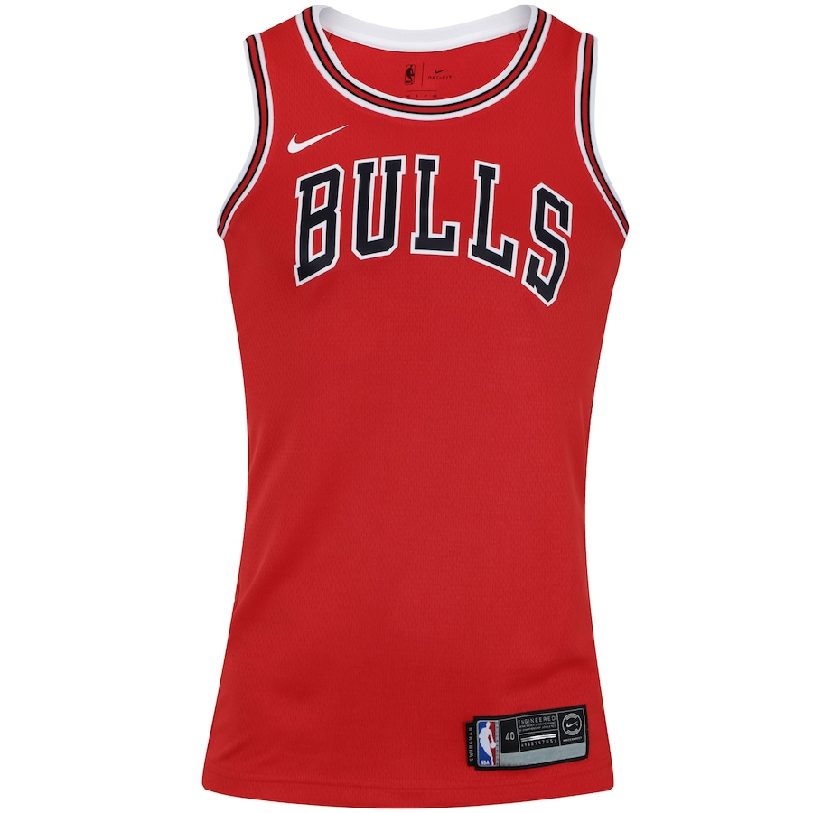 Camisa Regata Nike NBA Chicago Bulls Icon Edition Swingman - Masculina b37bc44b85b
