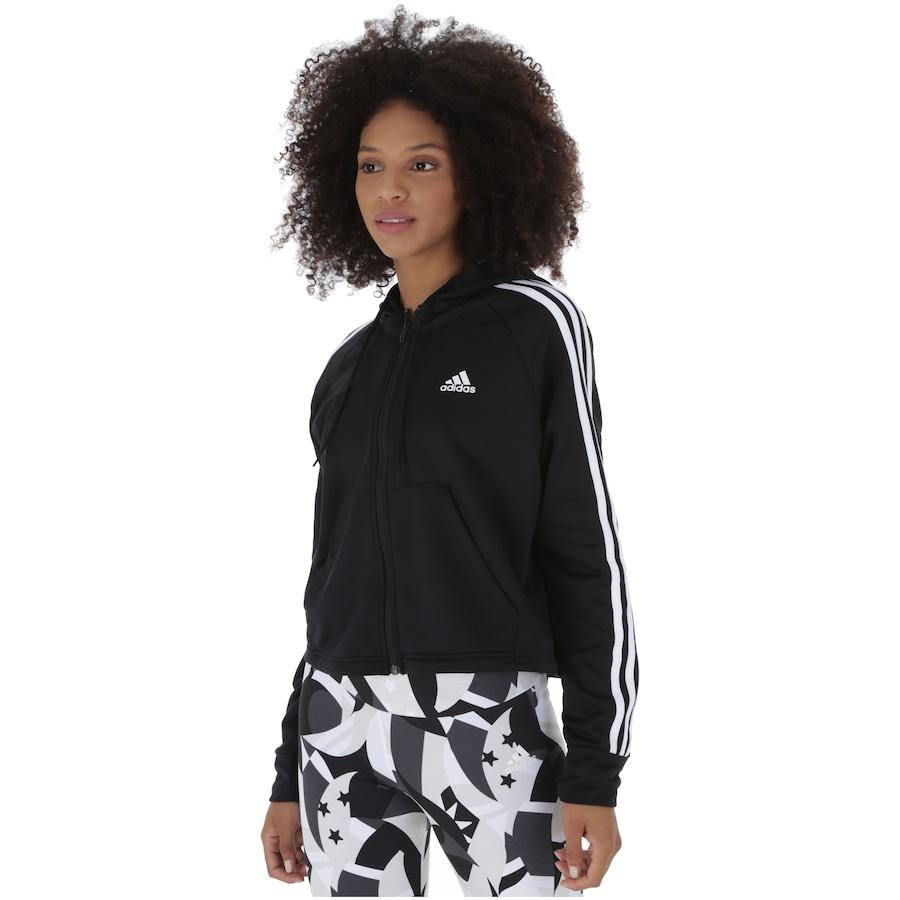 3c45935d5aa Agasalho com Capuz adidas WTS Hoodytight - Feminino