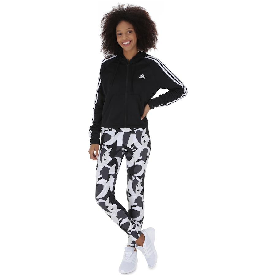 a1db4e6d3 Agasalho com Capuz adidas WTS Hoodytight - Feminino