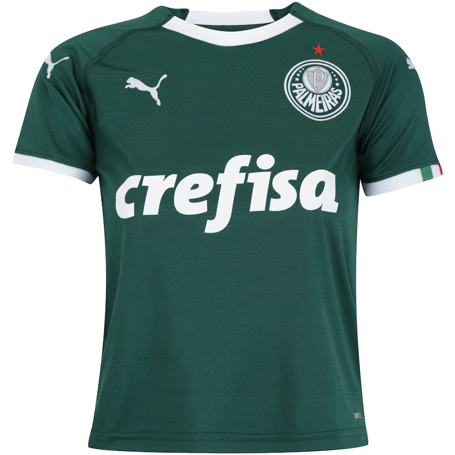08b25706dca7d Camisa do Palmeiras I 2019 Puma - Infantil