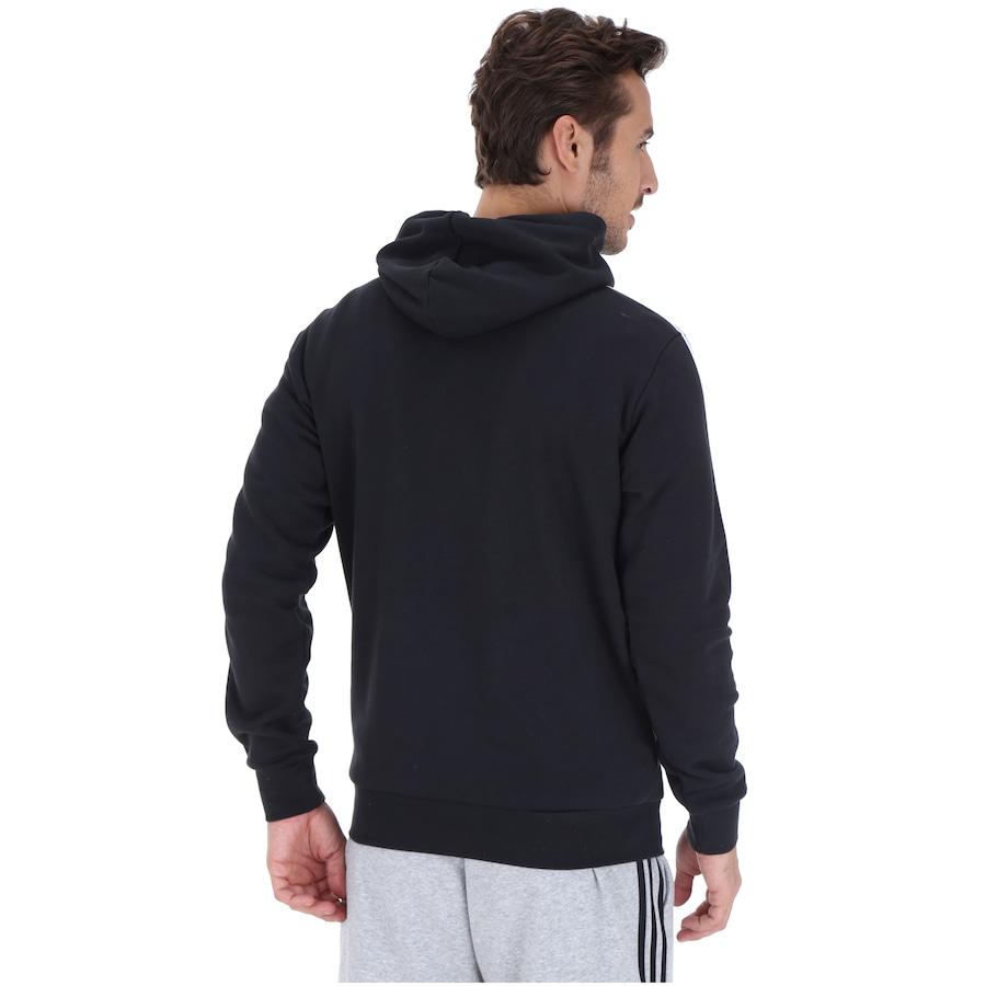 Blusão de Moletom com Capuz adidas 3S Pullover French - Masculino 56a70010253