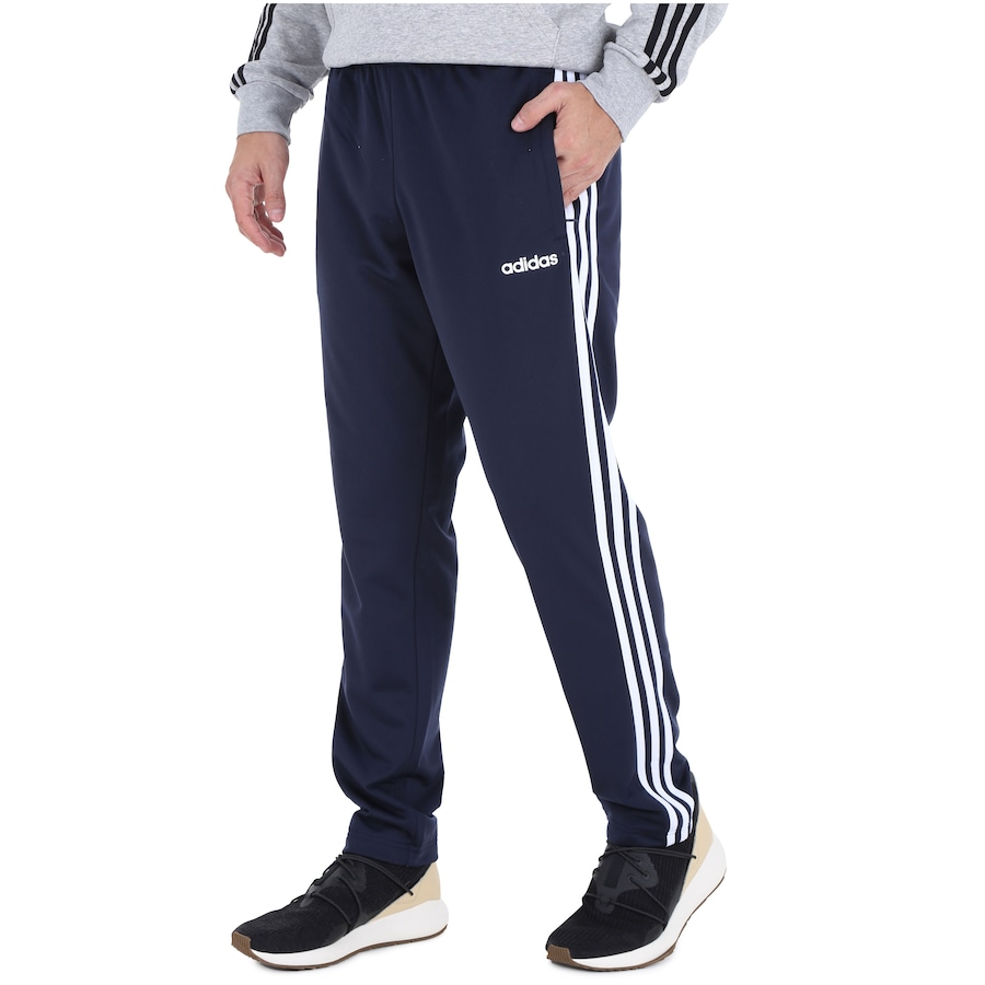 Calça adidas Essentials 3S Tapered Pant Tric Masculina