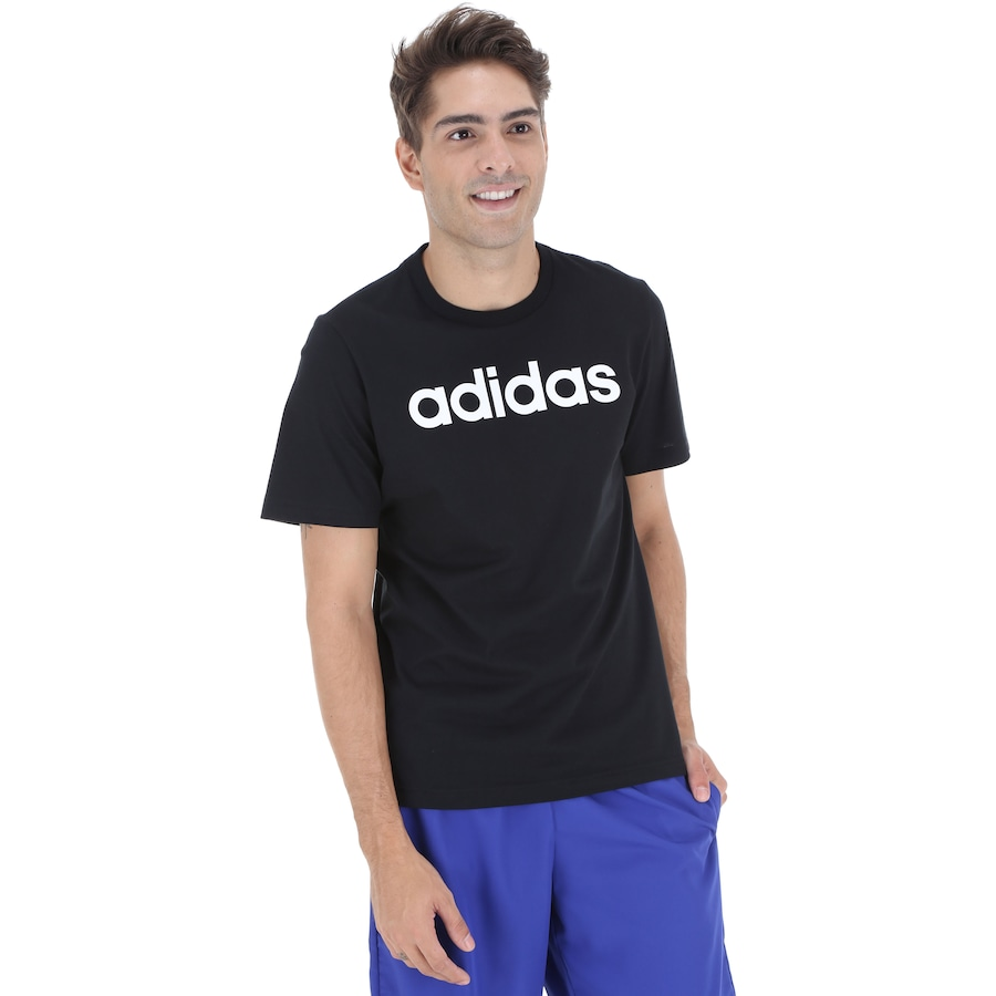 Camiseta adidas Essentials Linear Tee - Masculina
