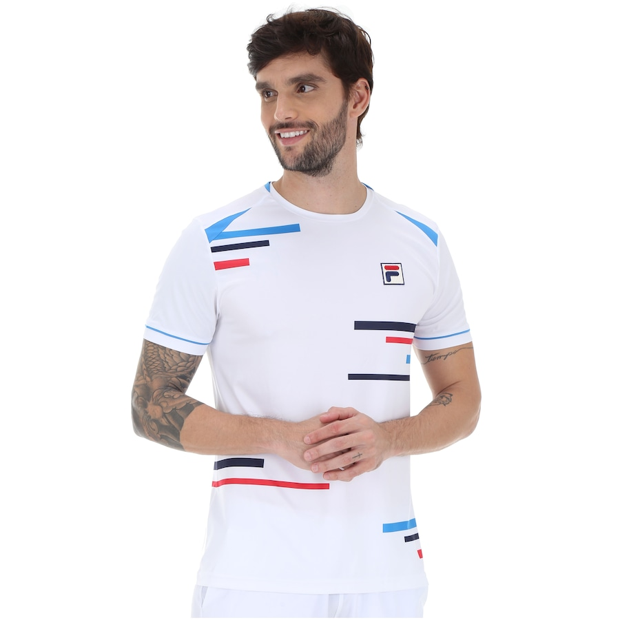 2cf97d88b79 Camiseta Fila Aus Pro - Masculina