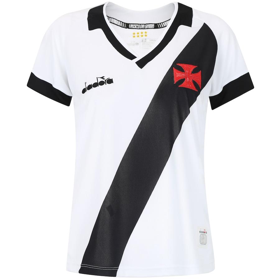 6aa02a69f7 Camisa do Vasco da Gama II 2019 Diadora - Feminina
