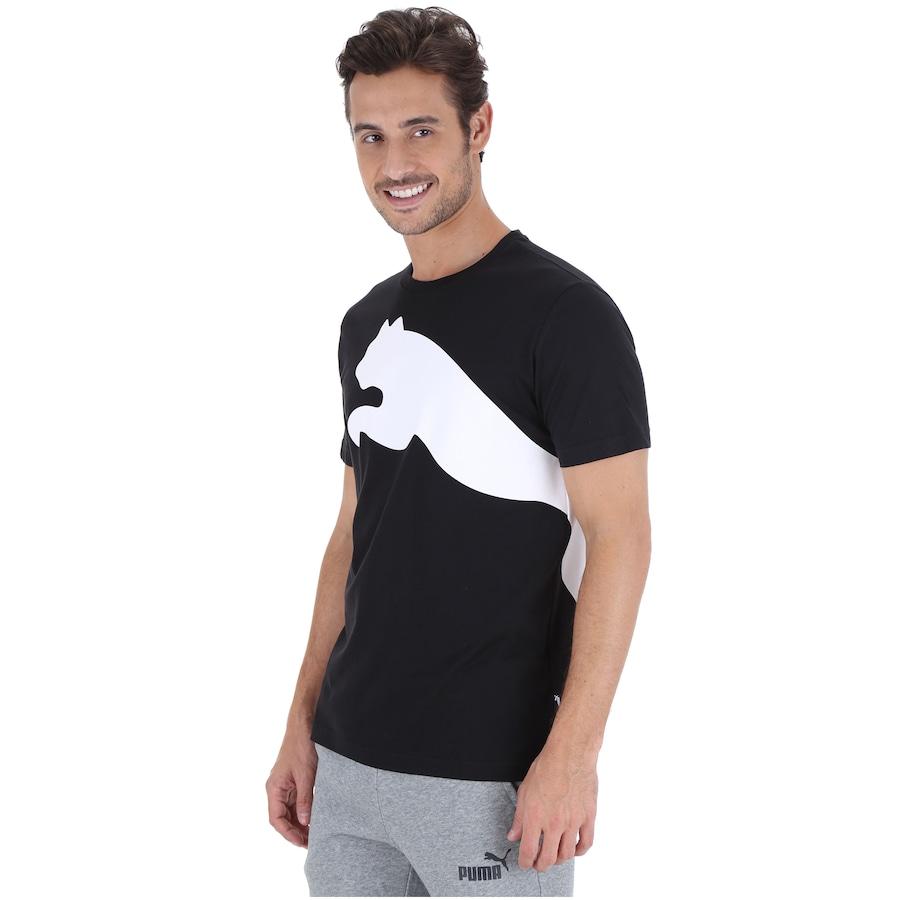 96b713f7b7 Camiseta Puma Oversize Logo - Masculina