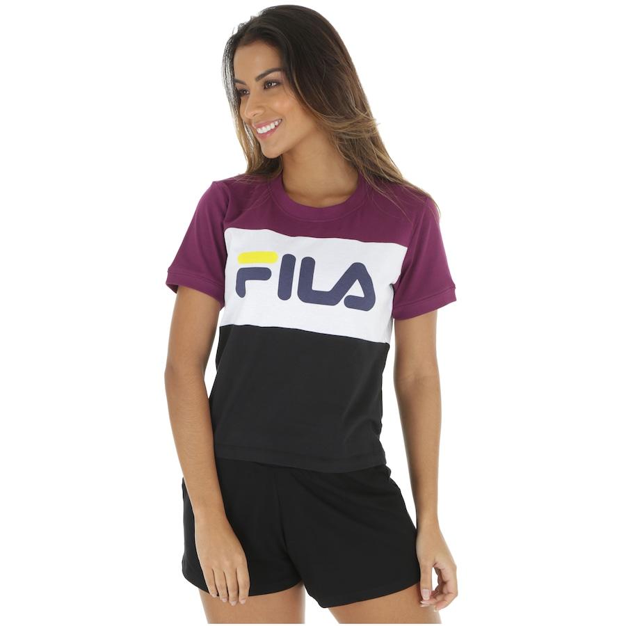 comprar bien diseño profesional nueva selección Camiseta Fila Maya - Feminina