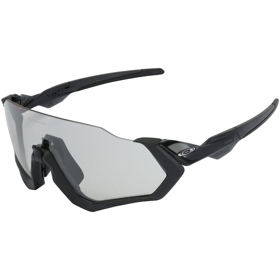 3c77b8ffd Óculos de Sol Oakley Flight Jacket Scenic Photo - Unissex