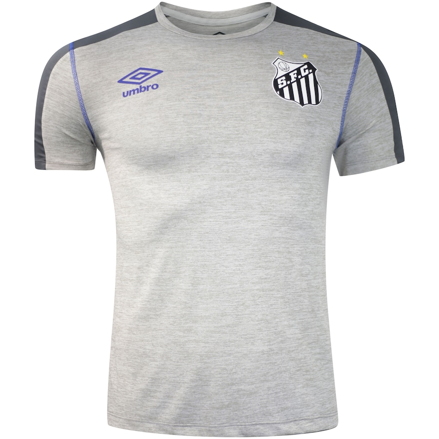 04cd9b80333bb Camisa do Santos Aquecimento 2019 Umbro - Masculina
