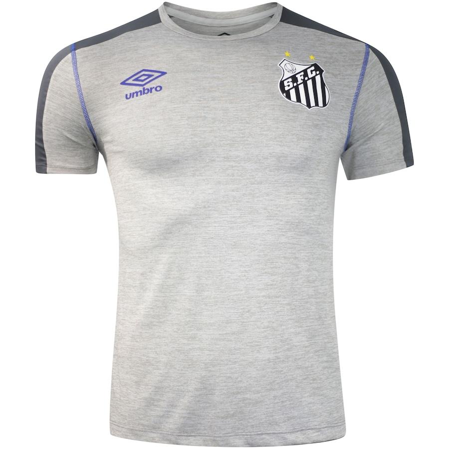 Camisa do Santos Aquecimento 2019 Umbro - Masculina c3a3e2c908303
