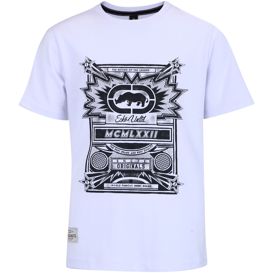 7177579e2893c Camiseta Ecko Estampada E072B - Infantil