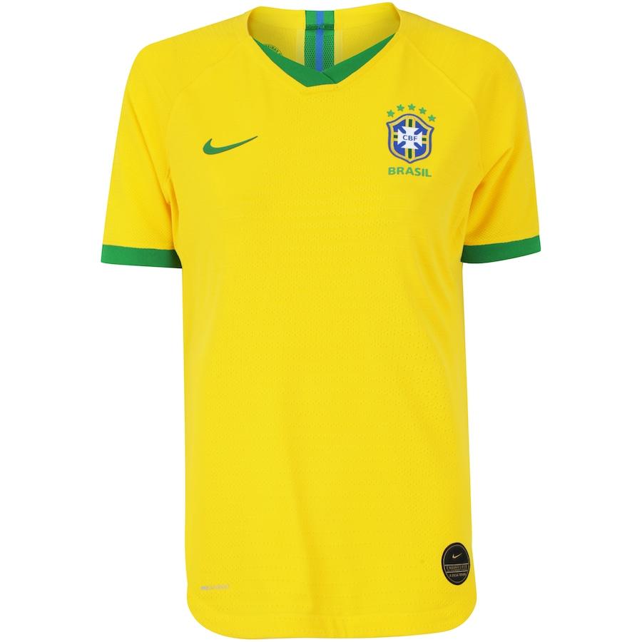 15094a85c0 Camisa da Seleção Brasileira I 2019 Nike - Jogadora - Feminina