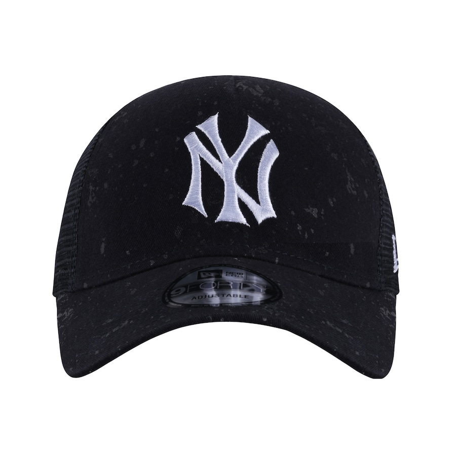 Boné Aba Curva New Era 940 New York Yankees Washed - Snapback - Trucker -  Adulto 9d55ef9a79a