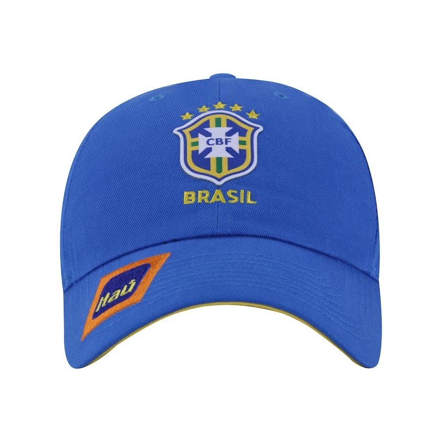 7a28a9dd7c Boné Aba Curva da Seleção Brasileira 2019 H86 Nike - Strapback - Adulto
