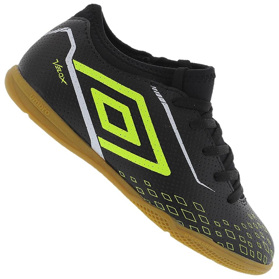 Chuteira Futsal Umbro Velox IC - Infantil 11b65f6509efc
