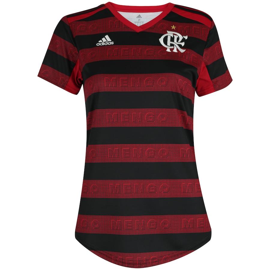ec62d355944 Camisa do Flamengo I 2019 adidas - Feminina