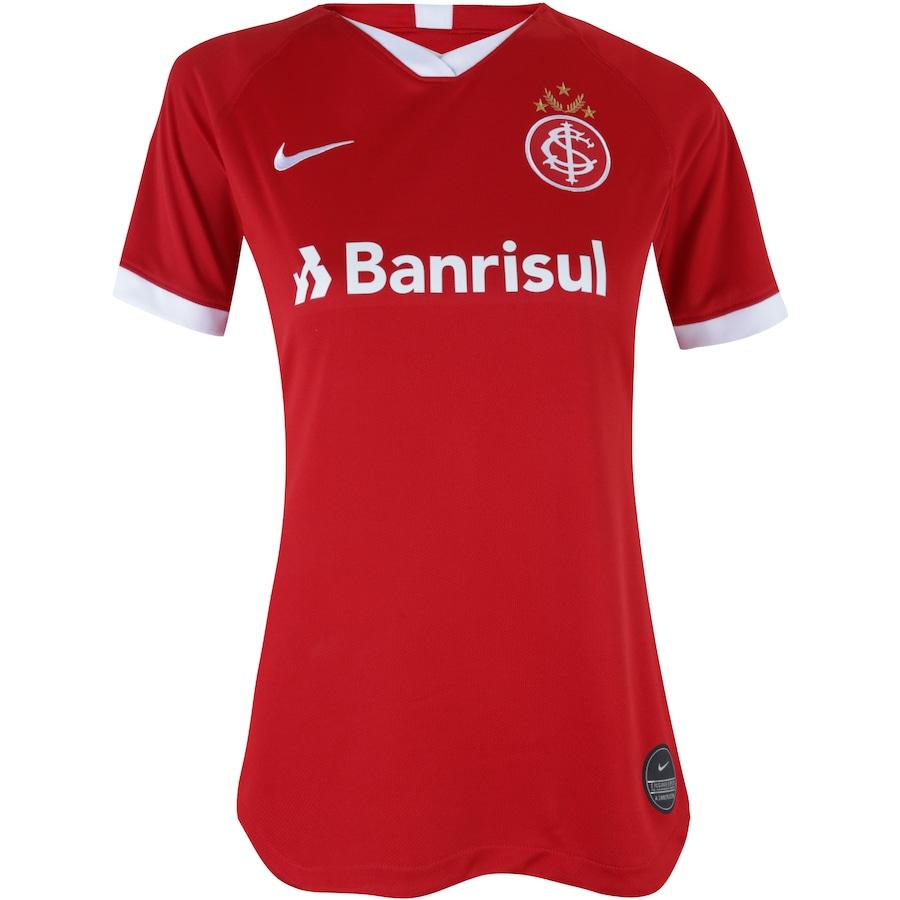 53c1aa089 Camisa do Internacional I 2019 Nike - Feminina