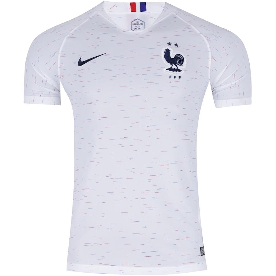 77c8f4620 Camisa França II 2018 Nike - Masculina