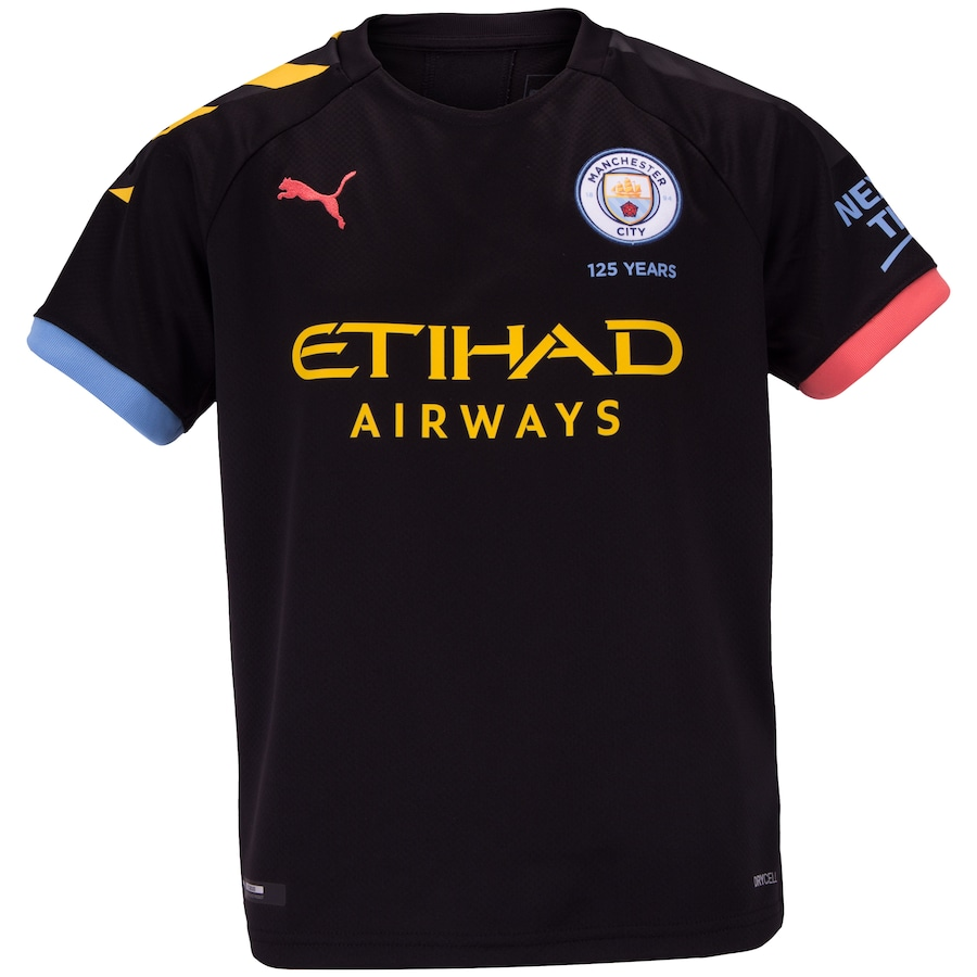 Puñalada robo Independencia  Camisa Manchester City II 19/20 Puma - Infantil - Centauro