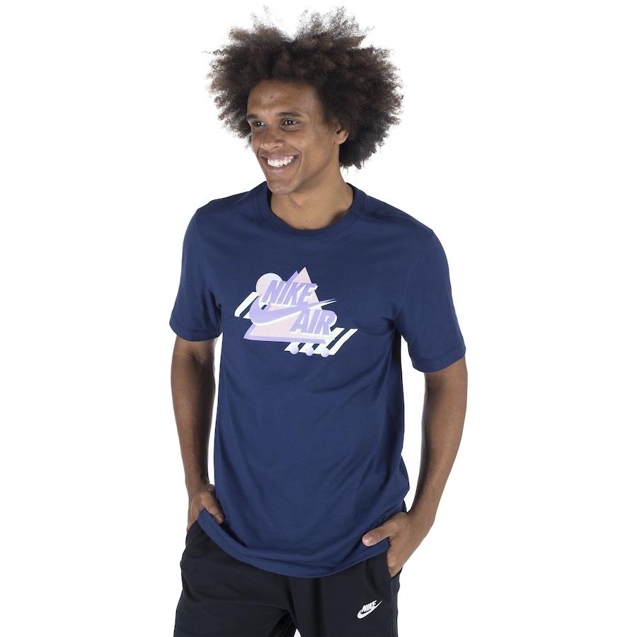 Foto 1 - Camiseta Nike SS Remix - Masculina