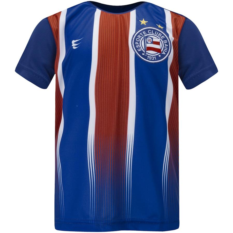 Camiseta do Bahia Tricolor 2019 Super Bolla - Juvenil