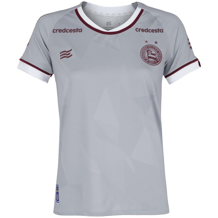 Camisa de Goleiro do Bahia II 2020 Esquadrão - Feminina