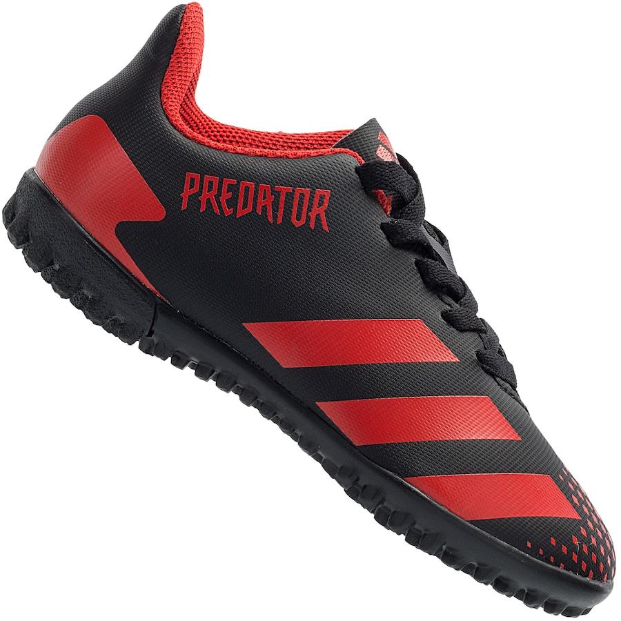 Chuteira Society adidas Predator 20.4 TF - Infantil