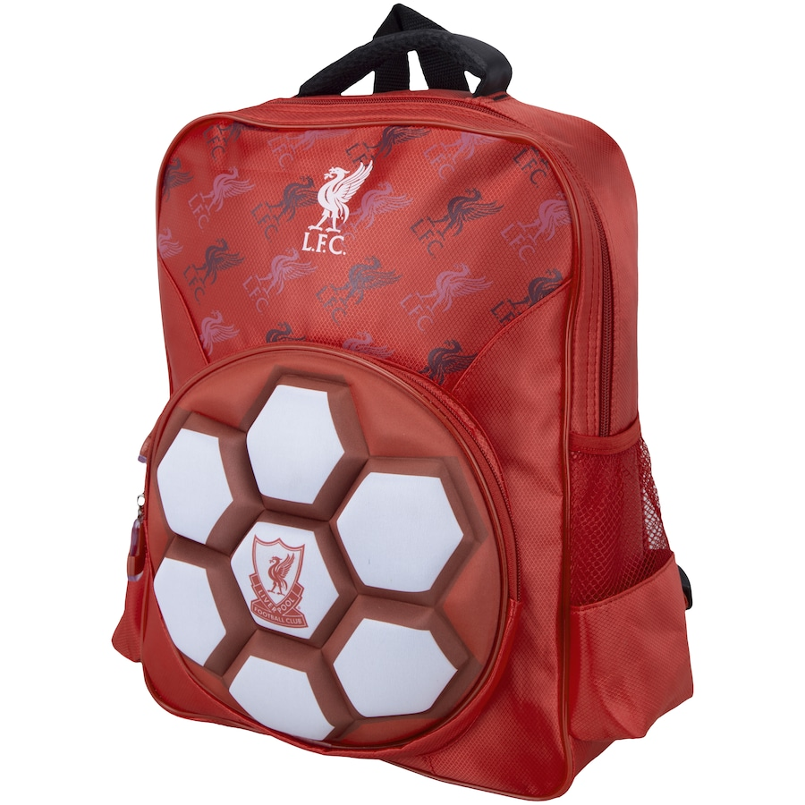 Mochila Liverpool Futebol & Magia Logo 3D - Infantil
