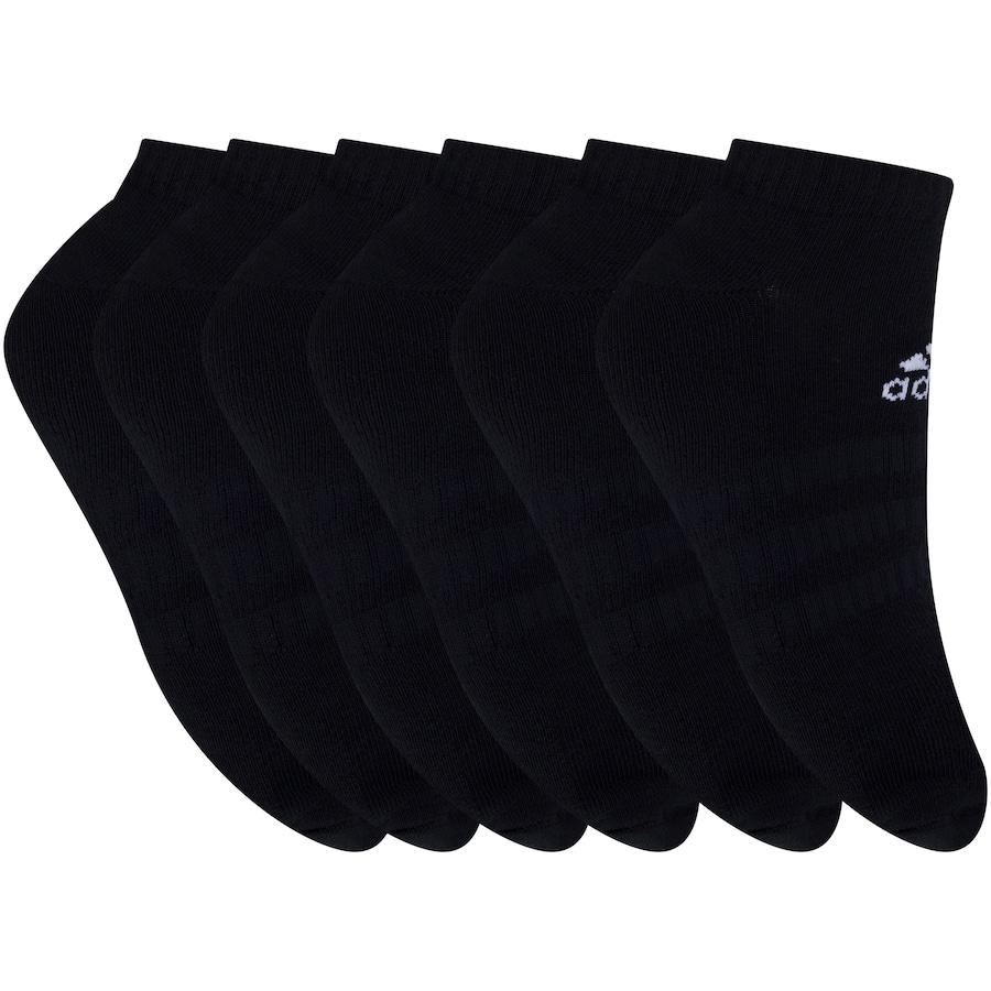 Foto 1 - Kit de Meias adidas Cush Low com 6 Pares - 41 a 43 - Masculino