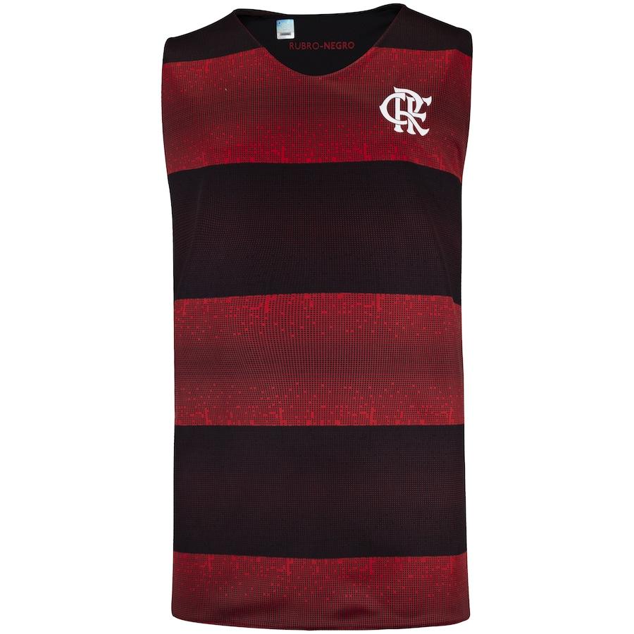 Camiseta Regata do Flamengo Dupla Face Smell - Infantil