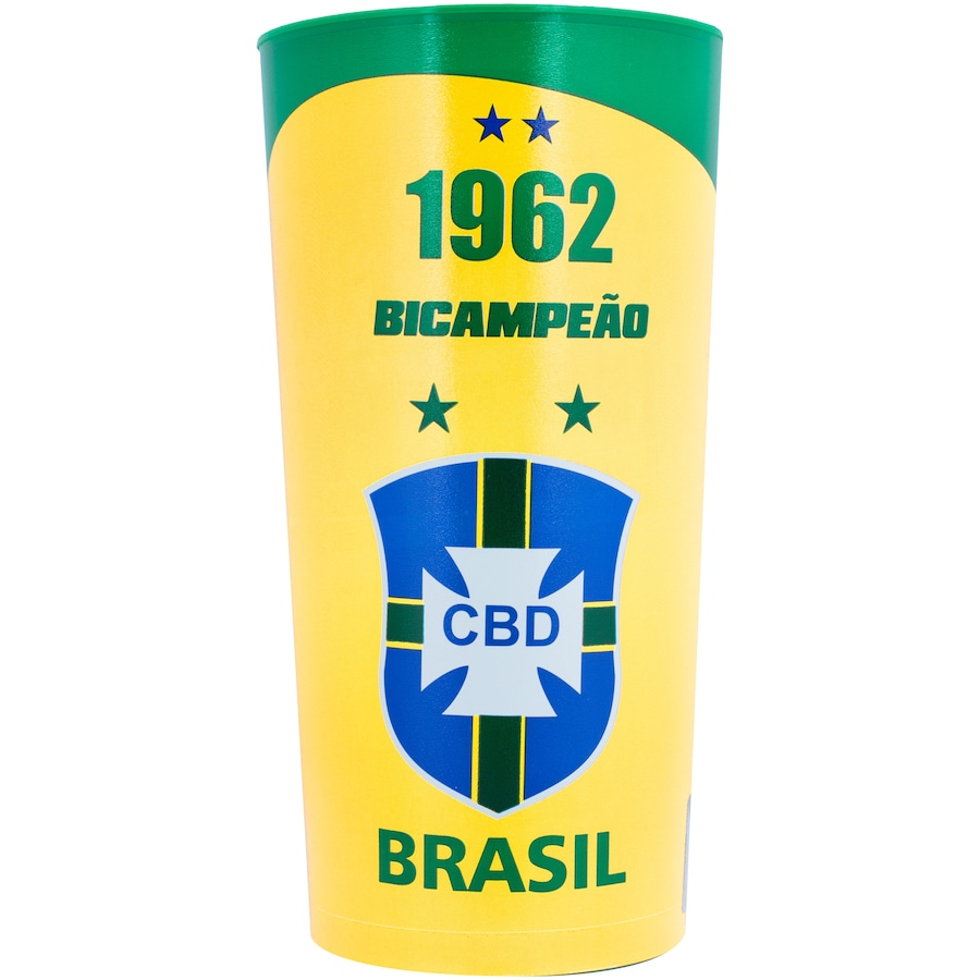 Copo da Seleção Brasileira 1962 Oficial M&L Sport - 770ml