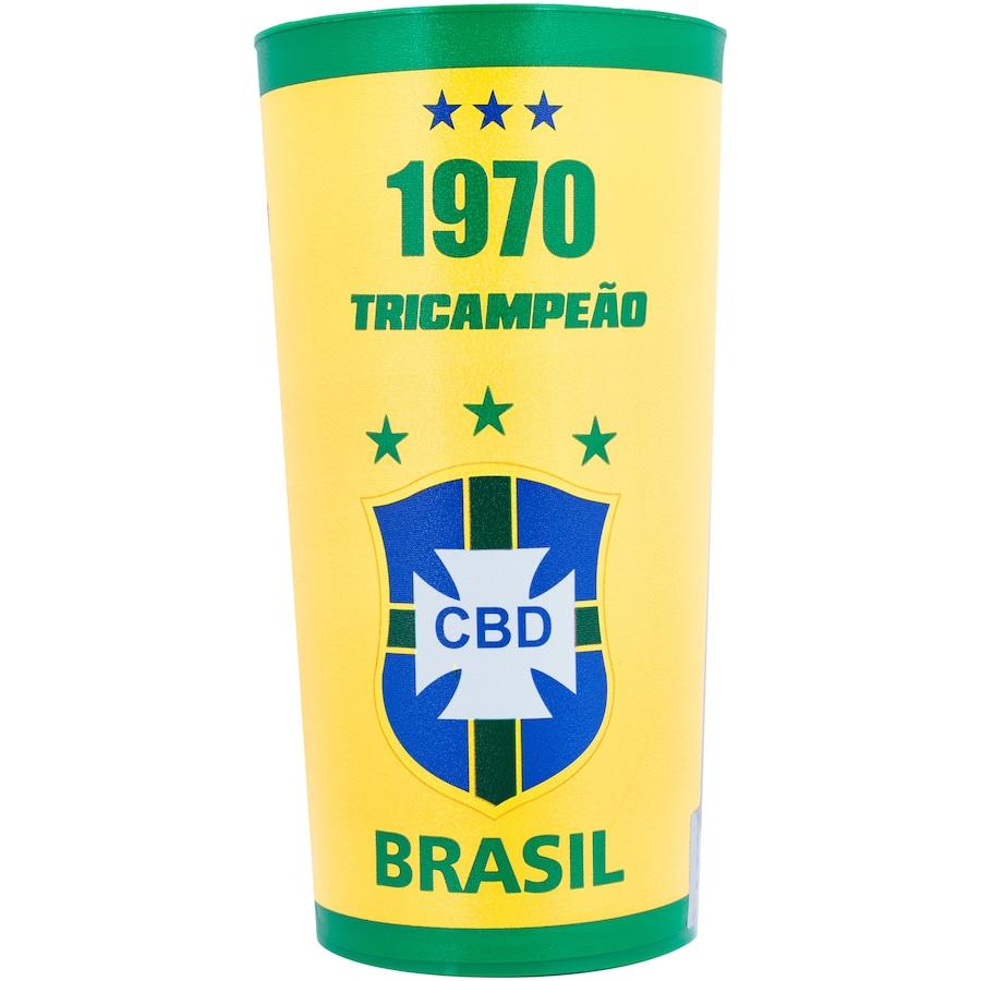 Copo da Seleção Brasileira 1970 Oficial M&L Sport - 770ml
