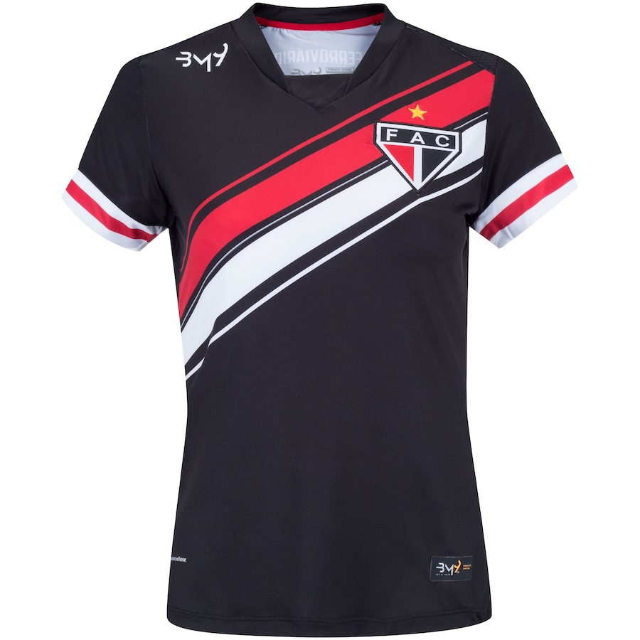 Camisa de Goleira do Ferroviário III 2020 Bomache - Feminina