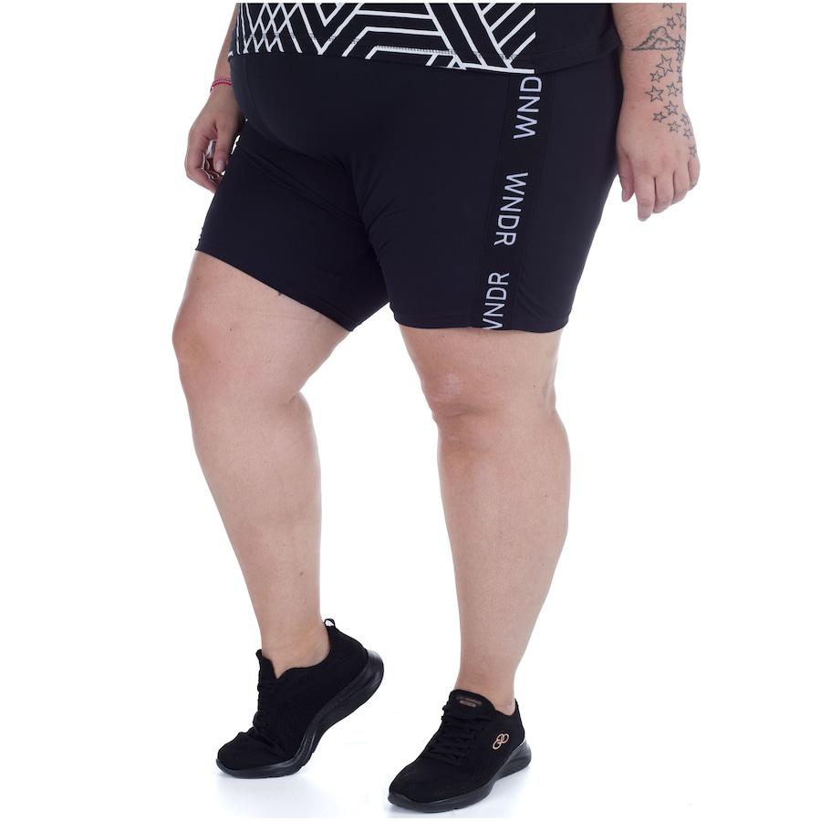 Bermuda com Proteção Solar UV Wonder Size Biker - Feminina