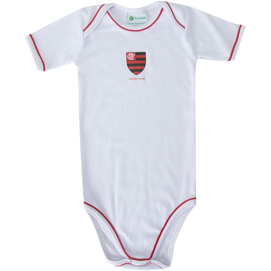 Body do Flamengo Avulso Curto Torcida Baby - Infantil