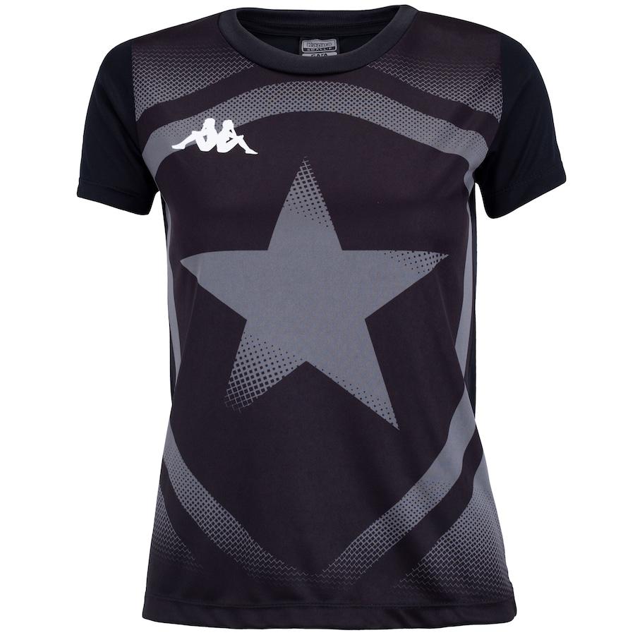 Camiseta do Botafogo Escudo 2020 Kappa - Feminina