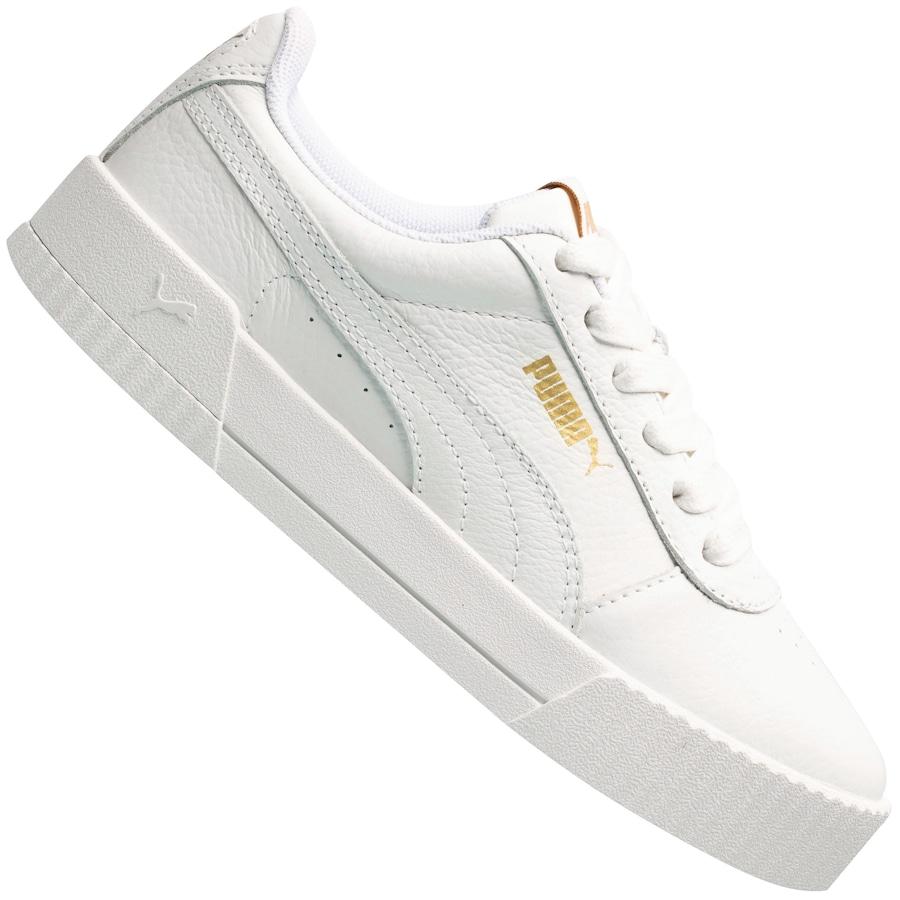 Tênis branco, da Puma