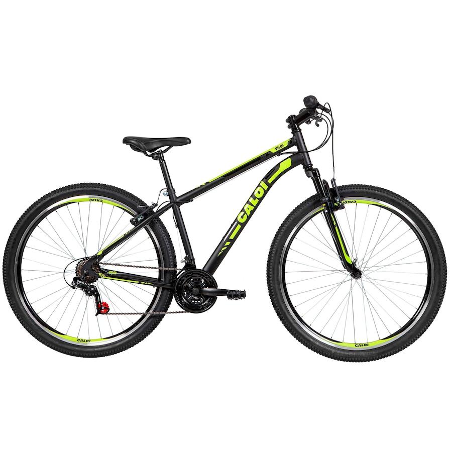Mountain Bike Caloi Velox - Aro 29 - Câmbio Indexado - Freios V-Brake