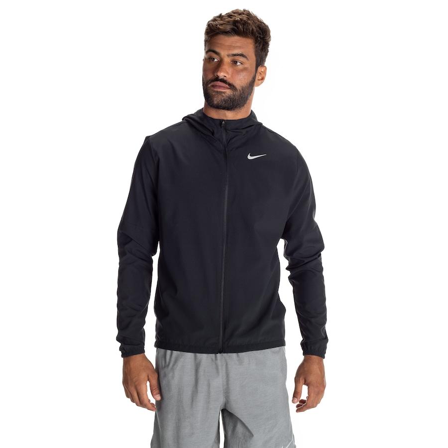 Jaqueta com Capuz Nike Run Stripe Woven - Masculina