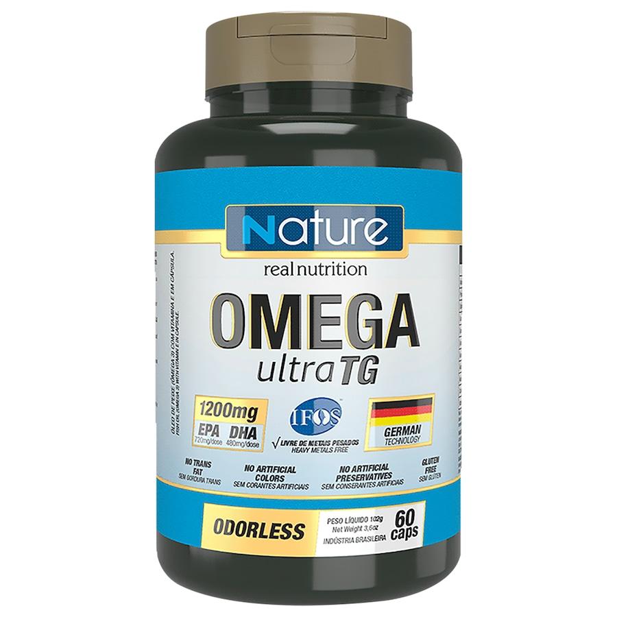 Ômega Nutrata Ultra TG - 60 Cápsulas