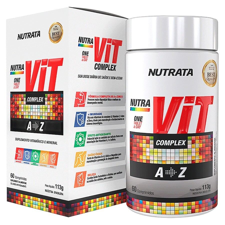 Nutravit Complex Nutrata - 60 Comprimidos