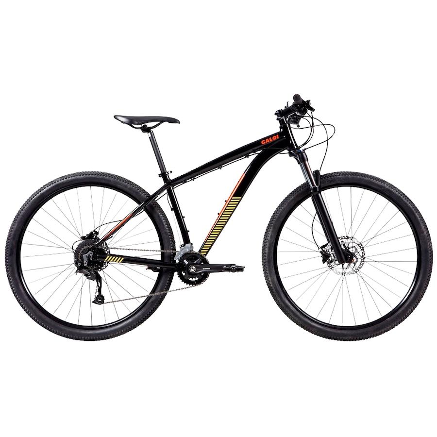 Mountain Bike Caloi Moab - Aro 29 - Freio a Disco Hidráulico - Câmbio Traseiro Shimano Alivio