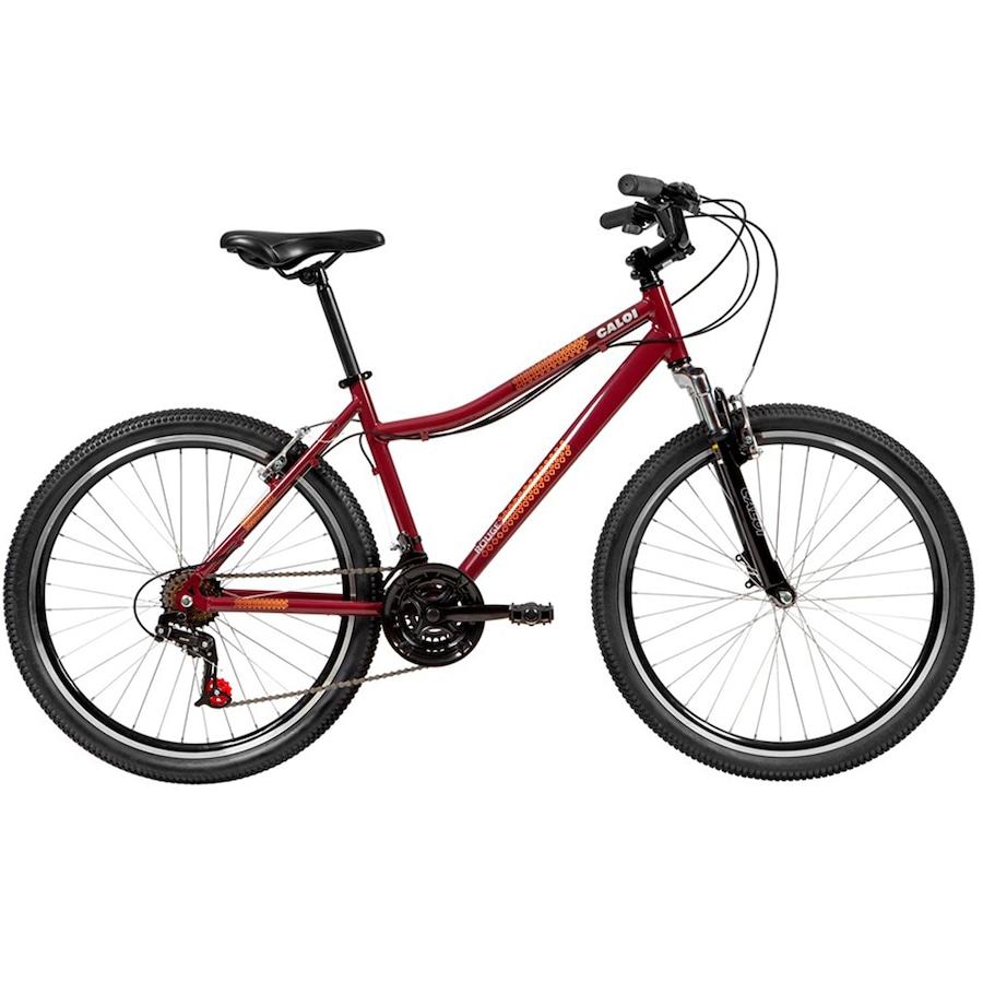 Bicicleta Caloi Rouge - Aro 26 - Freio V-Brake - Adulto